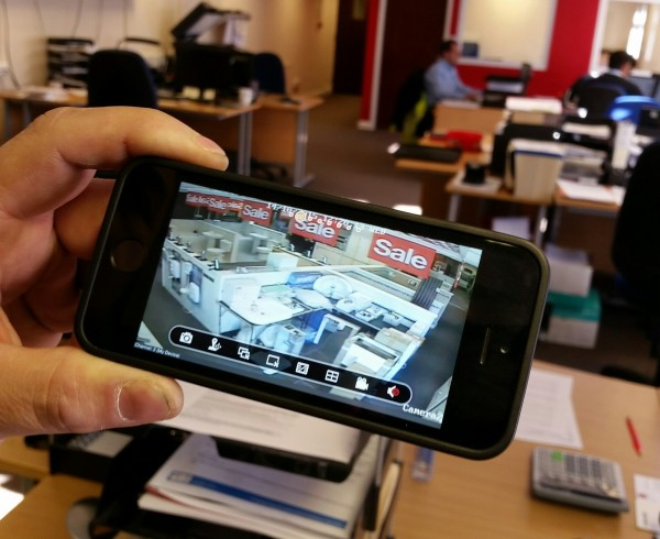 Commercial CCTV security systems for business