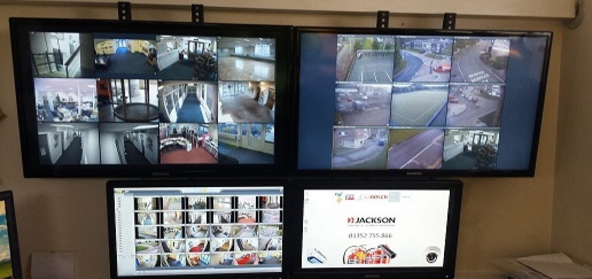 Commercial CCTV system