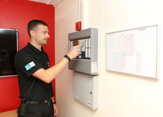 Fire alarm installation and maintenance