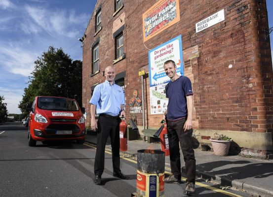fire and security servicing leeds