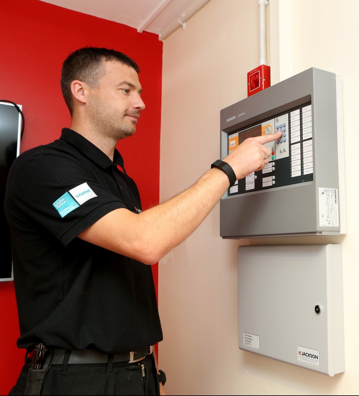 Wireless Fire Alarm Installation Complete For Salford City