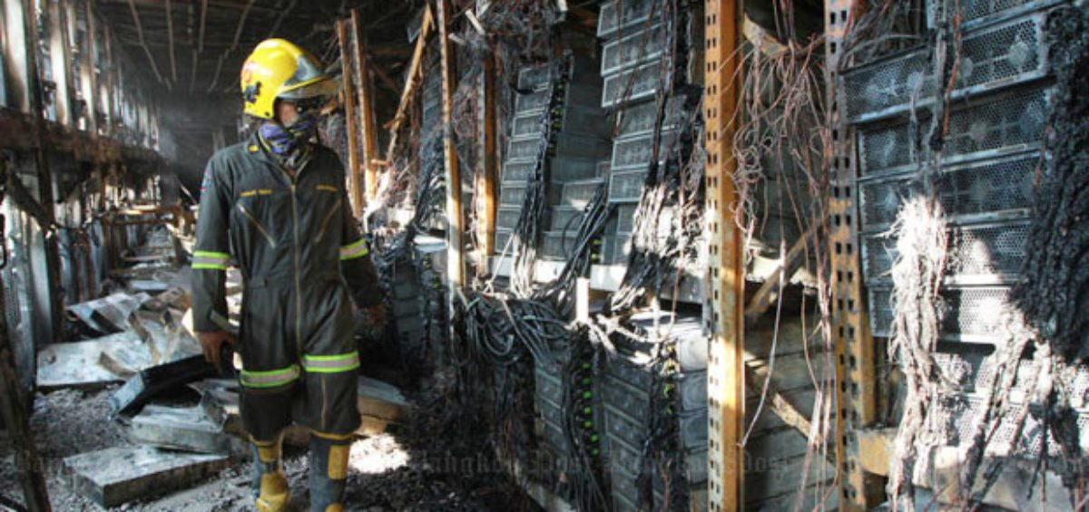 Is your server room a fire risk? | Jackson Fire & Security